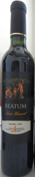 Dolium Beatum Malbec Späte Lese 2012